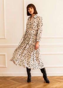 jedwabne sukienki entelier
