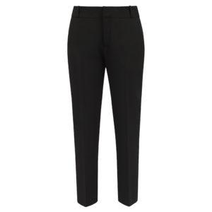 spodnie cygaretki czarne