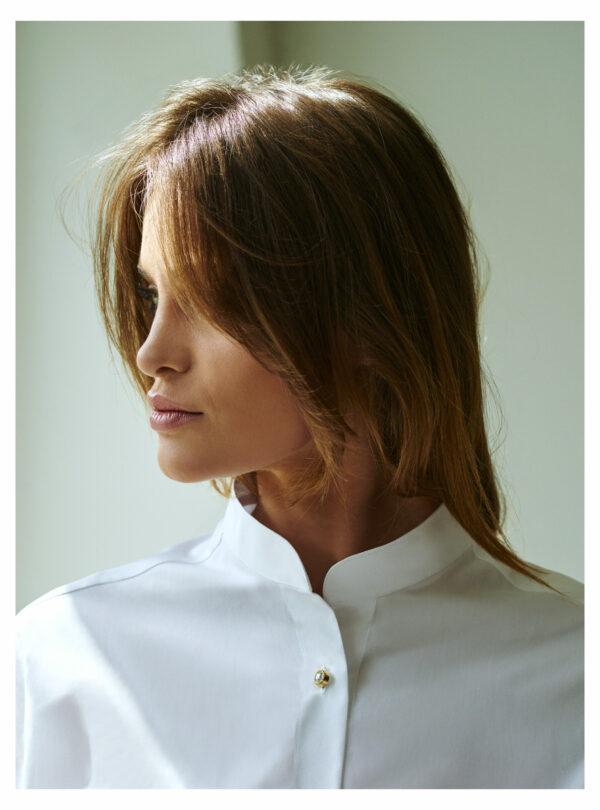 koszula biała oversize
