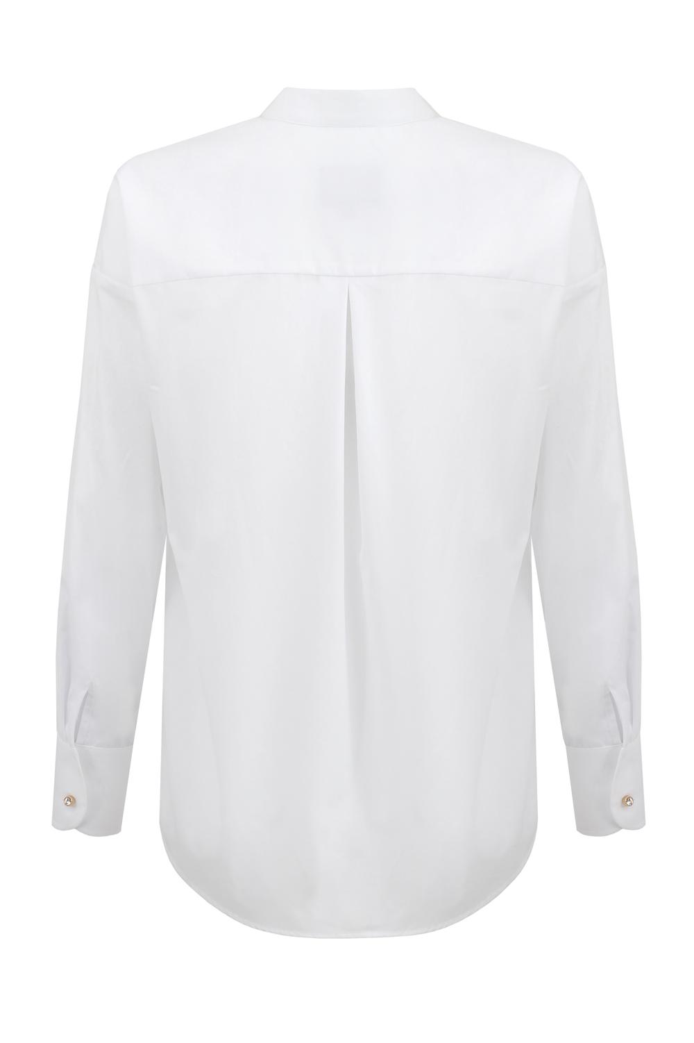 biała koszula overize