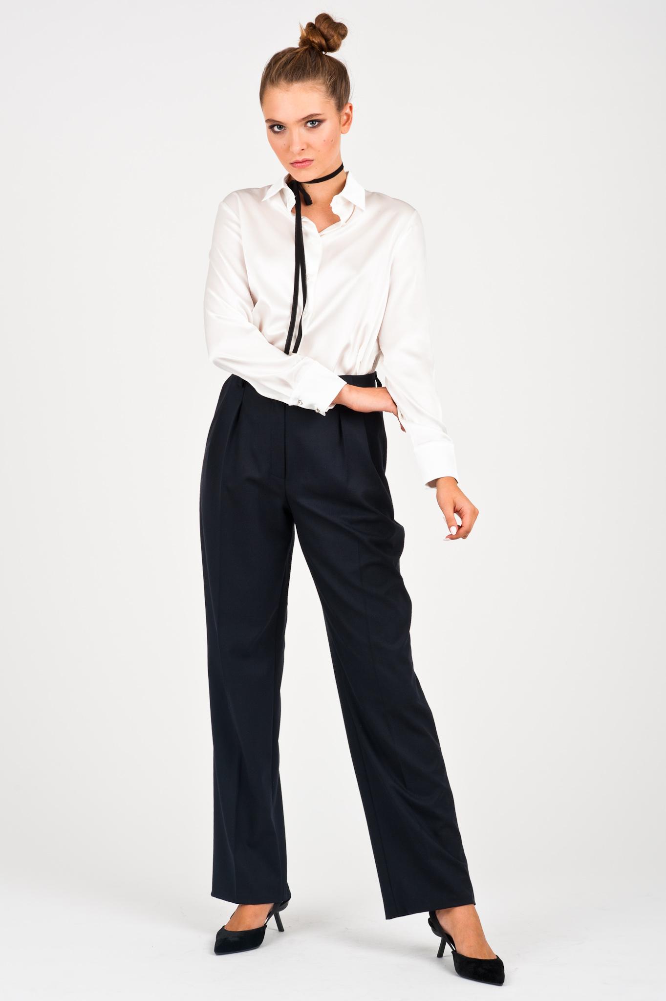 spodnie z wysokim stanem marleny