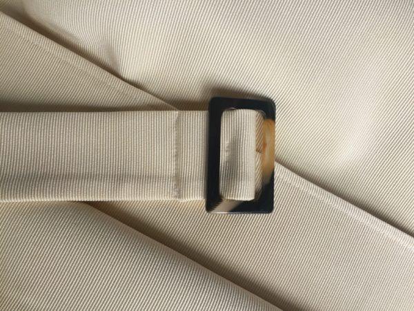 płaszcz trencz beżowy jasny