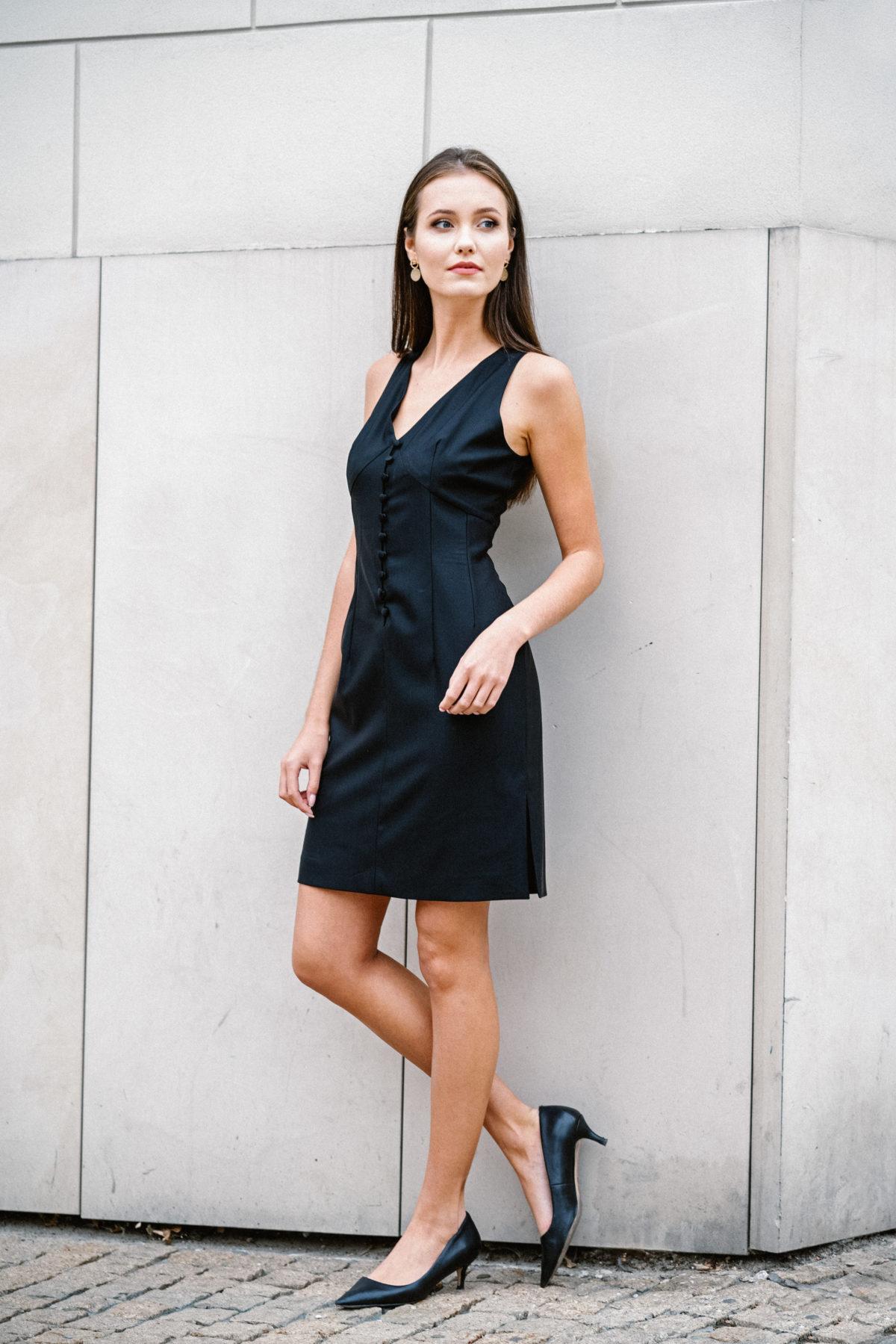 sukienka mała czarana Vanessa