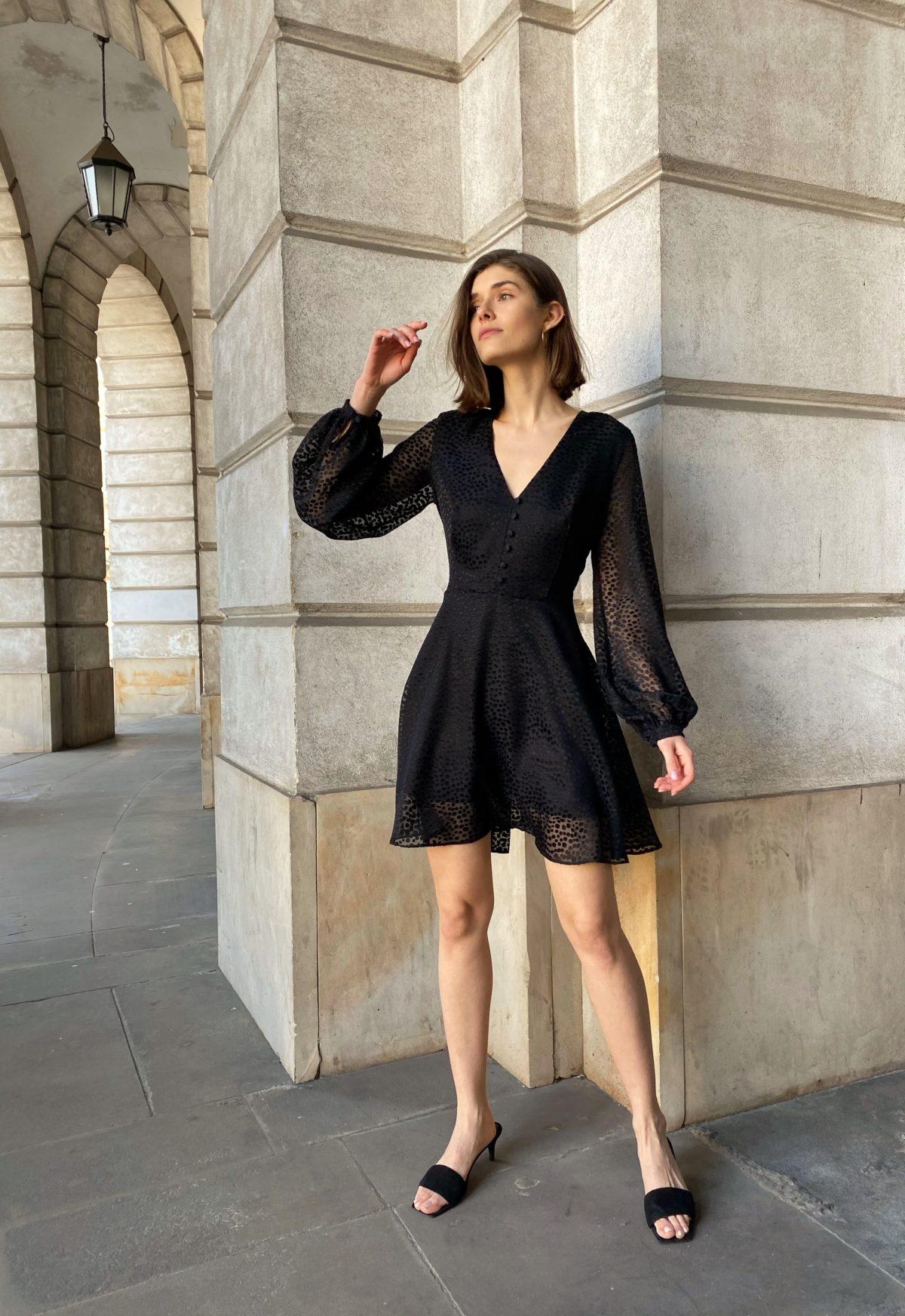 sukienka mała czarna charlene