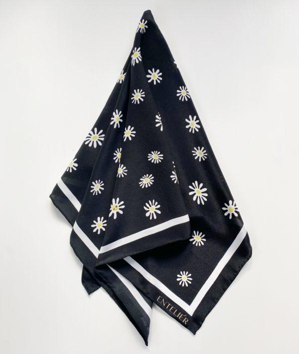 jedwabna apaszka daisy