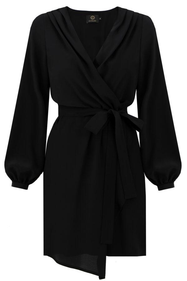 sukienka jedwabna Laurel szafir