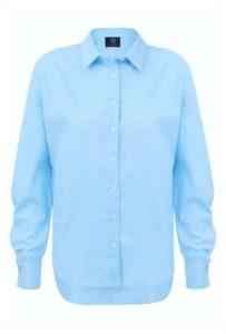 koszula oversize classic niebieska