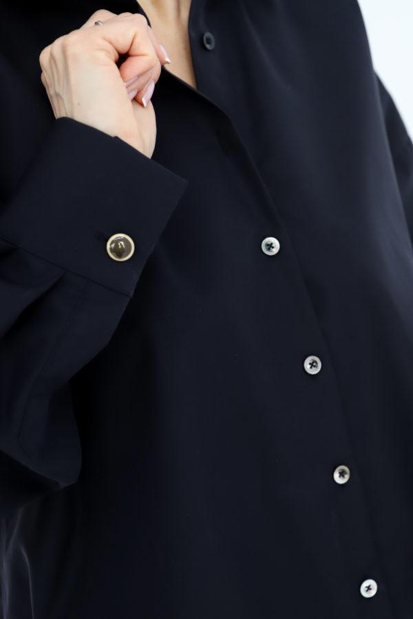 koszula classic oversize czarna