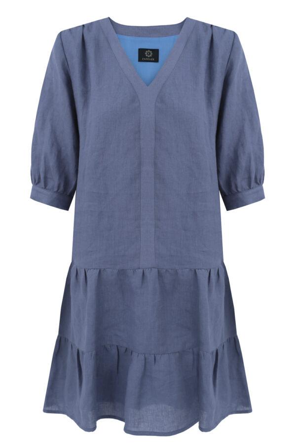 sukienka lniana blue jasmine