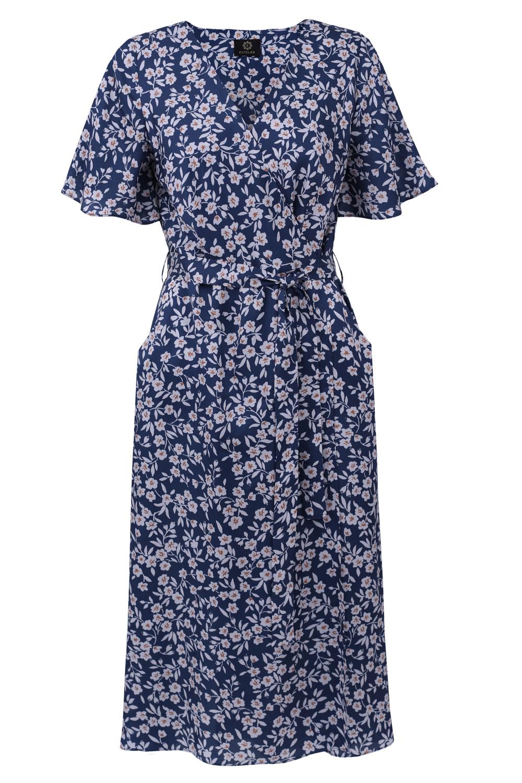 sukienka kopertowa Fleur