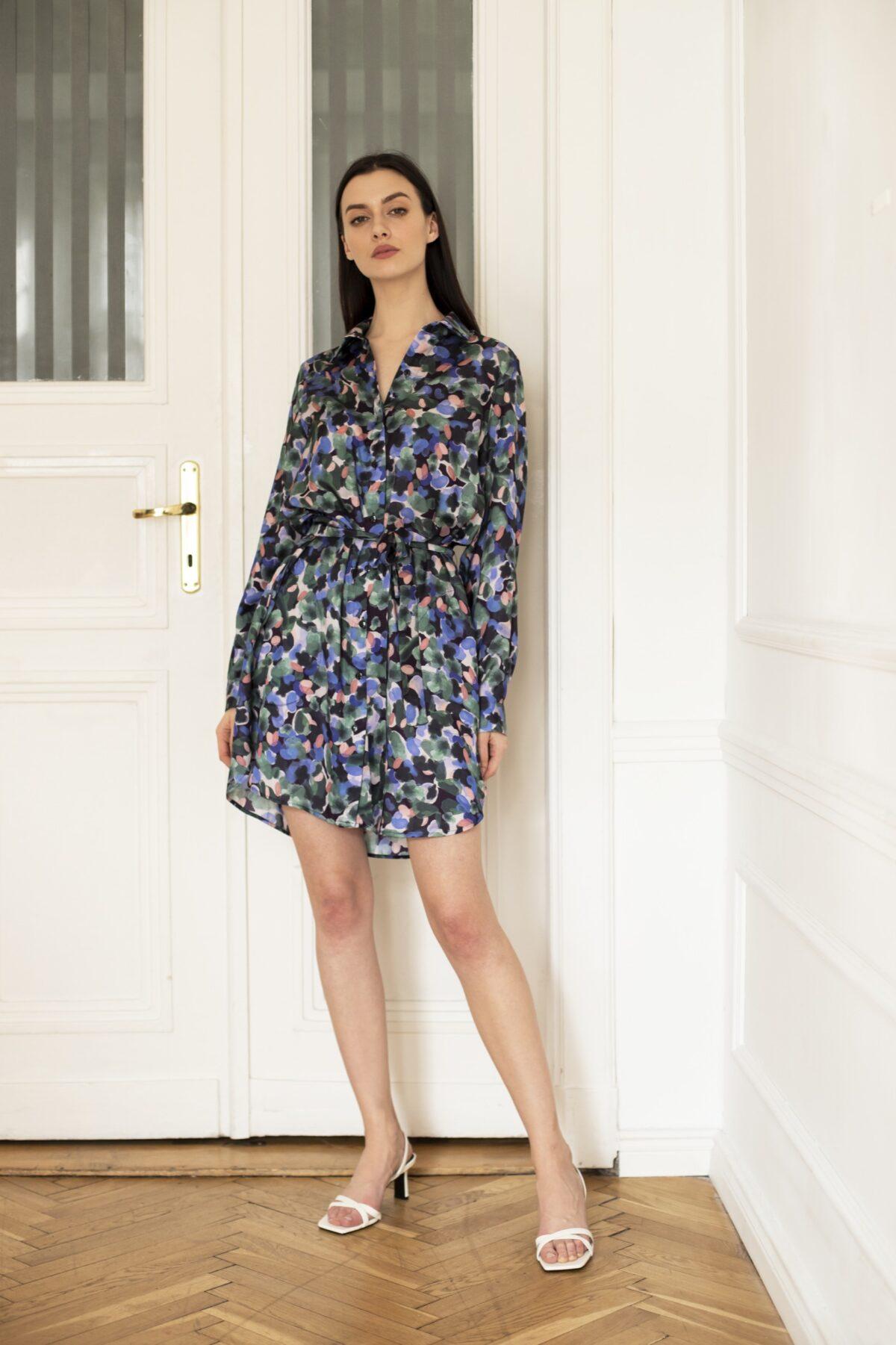 sukienka koszulowa Art Coloré