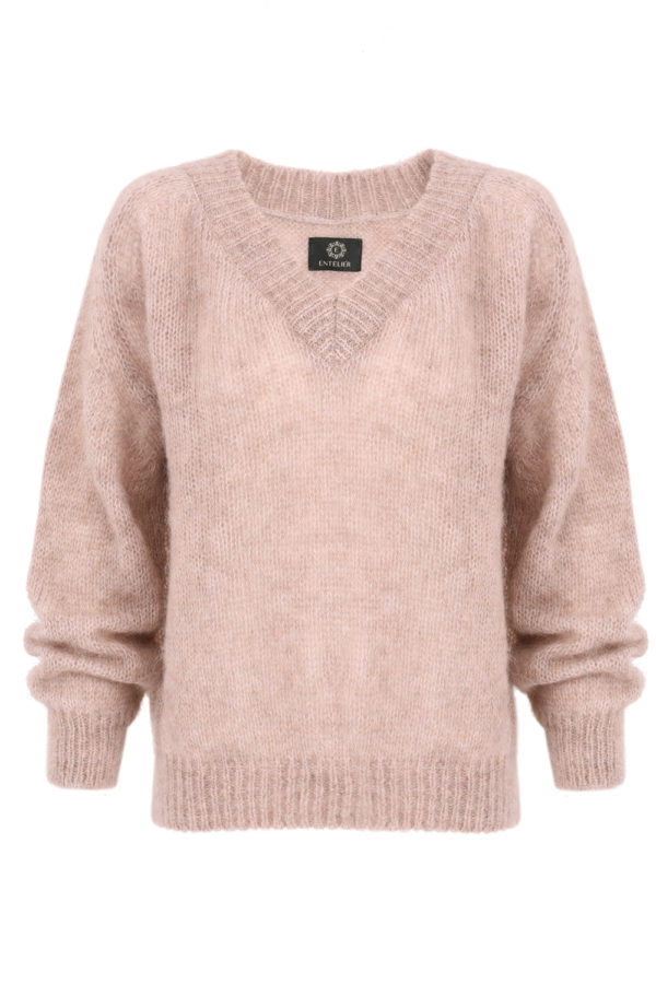 sweter moher beż