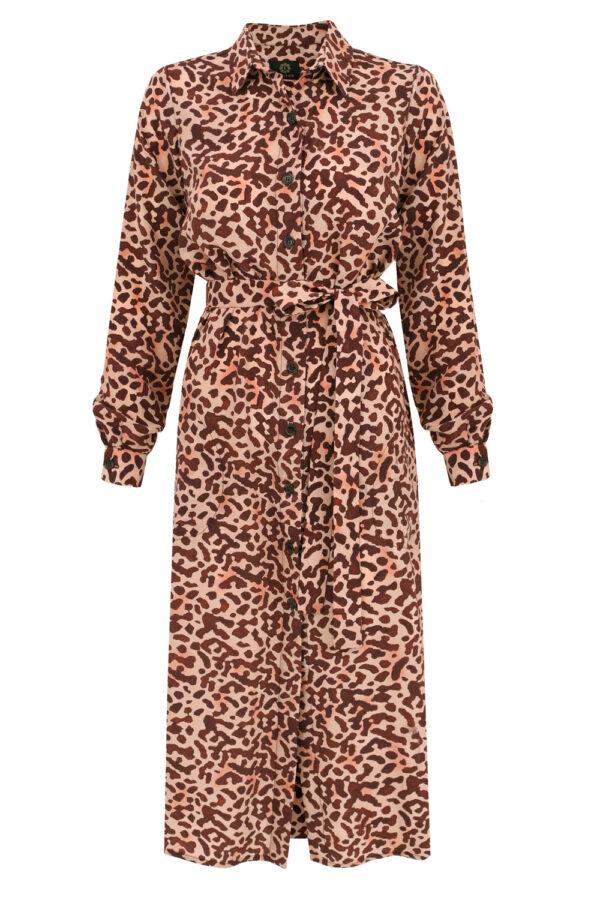 sukienka jedwabna organique