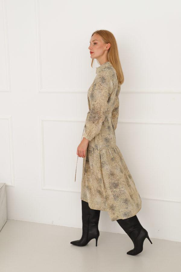 sukienka jedwabna sand diune