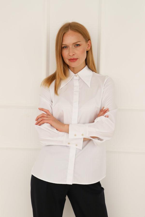koszula biała entelier